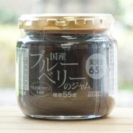 国産 ブルーベリーのジャム/200g【ムソー】