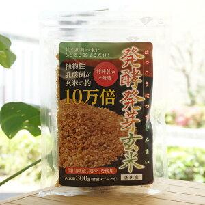 発酵発芽玄米/300g【ディエイアイ】【メール便の場合、送料無料】 植物性乳酸菌が玄米の約10万倍 炊く直前の米にひとさじ混ぜるだけ