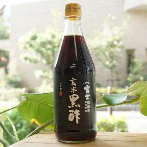 富士 玄米黒酢/500ml【飯尾醸造】