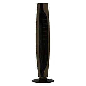 【送料無料】ドウシシャ スリム扇風機 お手入れタワーファン ピエリア ブラウン FTS-1001 BR