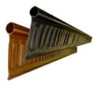 *(株)グリーンフィールド 造園用見切材「リサイクルエッジング」Vタイプ+高さ130mmx2mx3本(6m分)