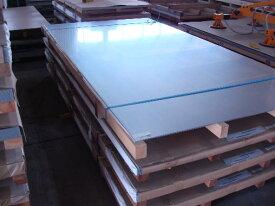 *アルミ板 A5052P H-34 片C-200LG 1.0mmx1000mmx2000mm 片面保護ビニールあり 5.4kg/枚 金属板 アルミシート アルミ
