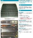 *大プラ 静電プラスチックネット 【NE01 35】幅1000mmx長さ50m 1巻/50m色:黒 材質:ポリプロピレン