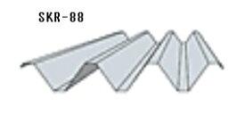 *カーポート屋根材 88タイプ無塗装 厚み0.6mm 長さ6000mm折板(セッパン)金属屋根 車庫屋根材 ルーフデッキ