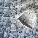 ガーデニング 化粧砂利 石灰石(砕石)砂利 18kg 防犯 防草に 送料無料