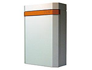 激安郵便ポスト 郵便受け OBI POST(オビポスト) ホワイト+オレンジ 壁掛・鍵付タイプ nl-p25or 送料無料