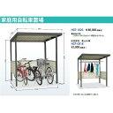 HCP-1820 物置 タクボ物置 自転車置き場 HCP-1820 W1805×D1961×H2099cm【駐輪スペース】