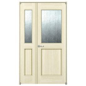 室内ドア 親子ドア YKKap ラフォレスタ ノンケーシング枠 スタイリッシュ B52デザイン 錠無 ykk 建具 扉 リフォーム DIY kenzai