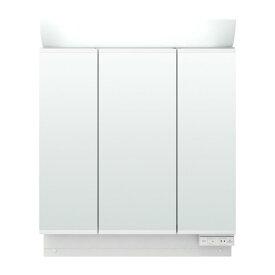 洗面化粧台 リクシル ピアラ ミラーキャビネット 間口W750mm MAR2-753TXS 3面鏡 スタンダードLED 全収納 全高1900mm用 くもり止めなし 洗面台 リフォーム DIY kenzai
