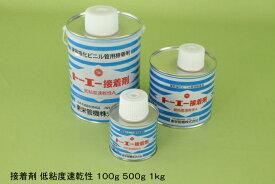 東栄管機塩ビ接着剤刷毛付500g