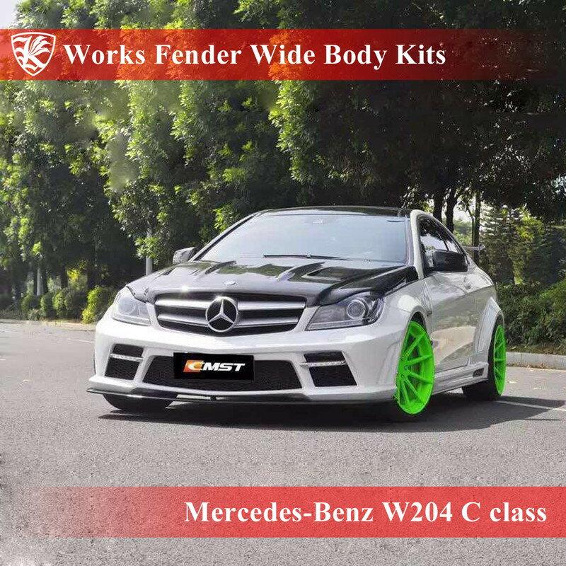 Mercedes-Benz W204 Cクーペ Kerberos K'sスタイル ワークスフェンダーワイドボディキット 21点キット