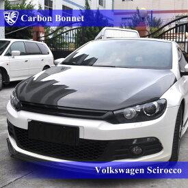 Volkswagen シロッコ Kerberos 3D Real Carbon カーボンOEMボンネット OEMタイプ 【AK-15-040】