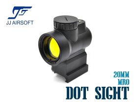 JJ AIRSOFT MRO レッドドットサイト ライザーマウント BK★東京マルイ M4A1 ダットサイト 光学機器