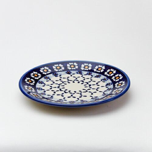 平皿φ17cm[W200-25D]【ポーリッシュポタリー[ポーランド食器・陶器]】