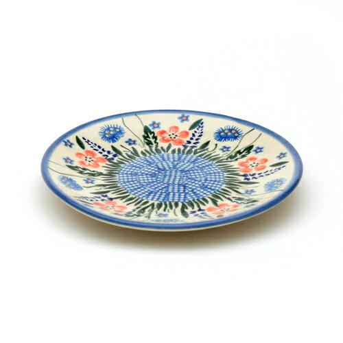 平皿φ17cm[W200-127]【ポーリッシュポタリー[ポーランド食器・陶器]】