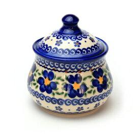 シュガーポット[V014-U019]【ポーリッシュポタリー[ポーランド食器・陶器]】
