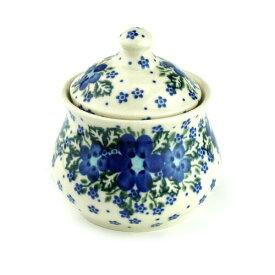 シュガーポット[V014-U420]【ポーリッシュポタリー[ポーランド食器・陶器]】