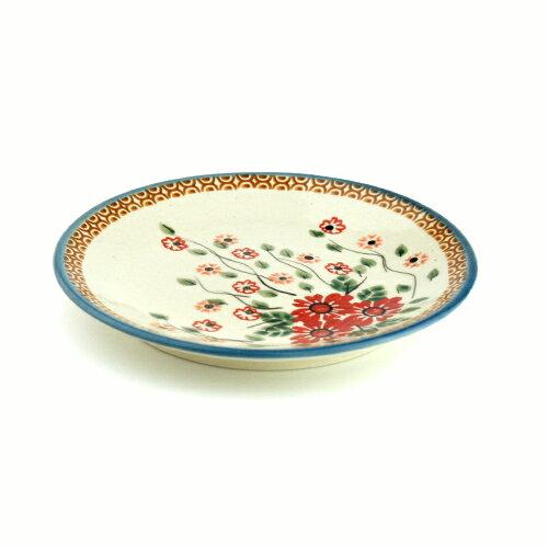平皿φ17cm[W200-142]【ポーリッシュポタリー[ポーランド食器・陶器]】