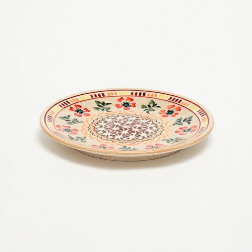平皿φ17cm[W200-A25B]【ポーリッシュポタリー[ポーランド食器・陶器]】
