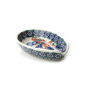 スプーンレスト[V089-A001]【ポーリッシュポタリー[ポーランド食器・陶器]】