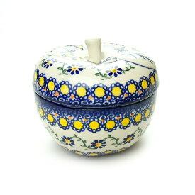 りんごポット[V356-U113]【ポーリッシュポタリー[ポーランド食器・陶器]】