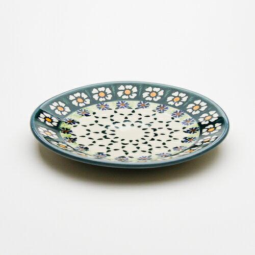 平皿φ17cm[W200-25A]【ポーリッシュポタリー[ポーランド食器・陶器]】