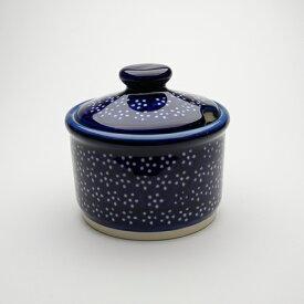 シュガーポット[Z698-226A]【ポーリッシュポタリー[ポーランド食器・陶器]】