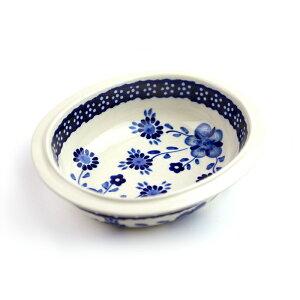 オーブン皿・リム付き・ミニ[Z279-273]【ポーリッシュポタリー[ポーランド食器・陶器]】