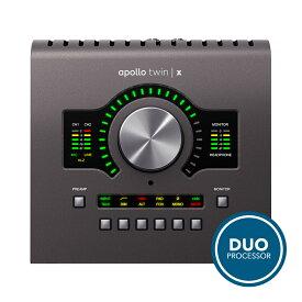 UNIVERSAL AUDIO Apollo Twin X Duo◆デスクトップ・インターフェイス・プロモーション開催中:12/31まで◆