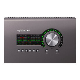 UNIVERSAL AUDIO Apollo x4 (nks5p) ◆デスクトップ・インターフェイス・プロモーション開催中:12/31まで◆