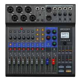 ZOOM LiveTrak L-8 Digital Mixer + Recorder