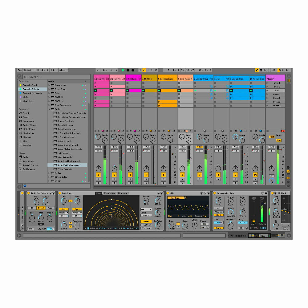 Ableton Live 10 Suite(UPG from Live 7-9 Suite)【オンライン納品】