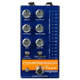 Empress Effects Bass Compressor Blue ベース用コンプレッサー