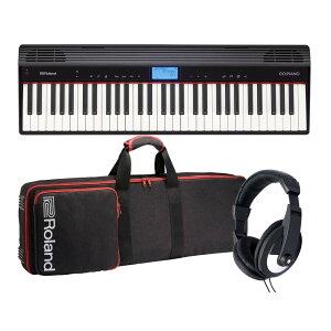 Roland エントリー・キーボード GO:PIANO Entry Keyboard (GO-61P) 【純正キャリングケース&ヘッドホンセット】【送料無料】