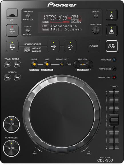 Pioneer DJ パイオニア CDJ-350 (CDJ350)【送料無料】