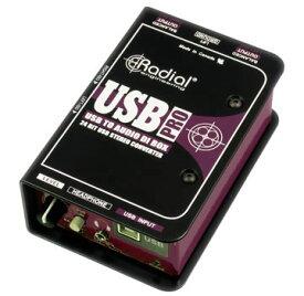 Radial USB-Pro 【国内正規輸入品】【 スタジオクオリティ向上計画 】【 RECORDING EFFECTOR 】【送料無料】