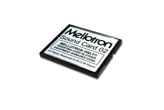 Mellotron Mellotron Sound Card 02