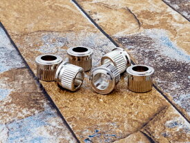 ギター パーツ ブッシュ KEY'STONE '50s Vintage Replica Tuner Bushings/Nickel 6 (Conversion Type)