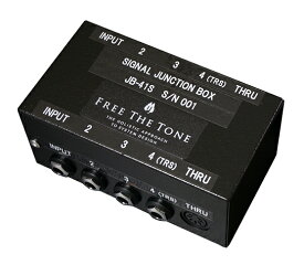 FREE THE TONE フリーザトーンSignal Junction Box JB-41S【送料無料】