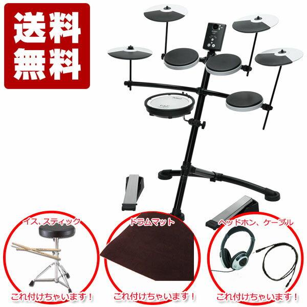 ローランド 電子ドラムRoland V-Drums Kit TD-1KV 3cymbal 限定アクセサリーセット 【送料無料】