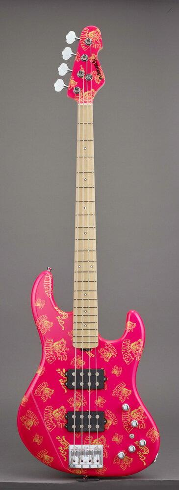 エドワーズ エレキベース EDWARDS Artist Series E-助平 Pink KENTA Model【送料無料】【受注生産品 納期4〜6ヶ月位 ご予約受付中】【受注生産品につき代引不可】