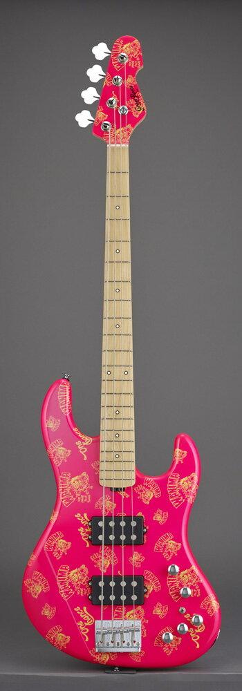 グラスルーツ エレキベース GrassRoots Artist Series G-助平 Pink KENTA Model【送料無料】【受注生産品 納期4〜6ヶ月位 ご予約受付中】【受注生産品につき代引不可】
