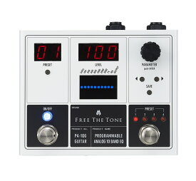 Free the Tone フリーザトーン PA-1QG (ギター用) PROGRAMMABLE ANALOG 10 BAND EQ【送料無料】