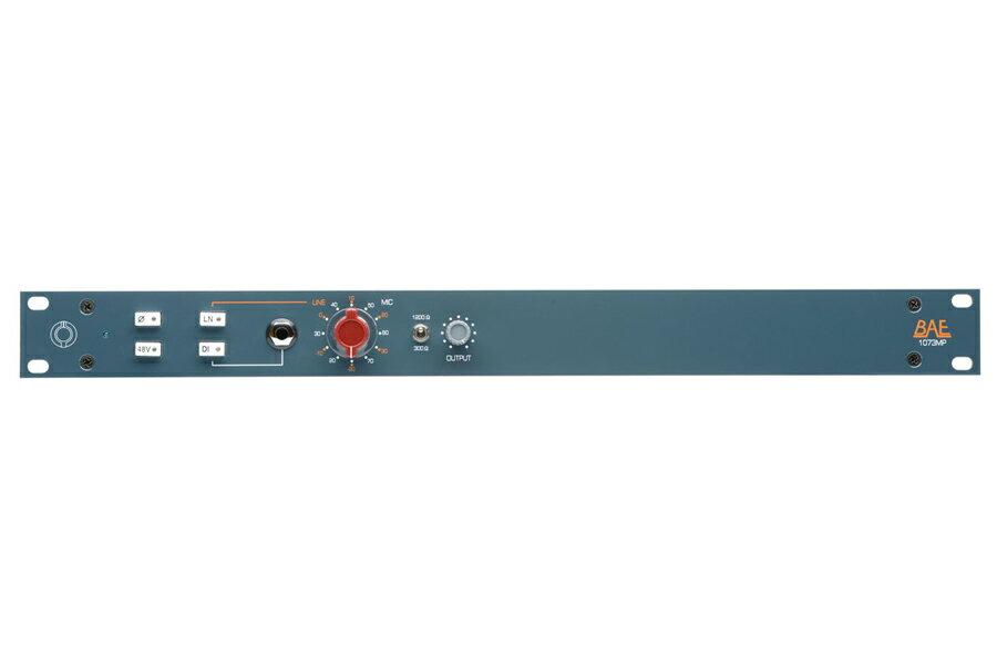 BAE Audio BAE 1073MP 1CH -1ch Mic Preamp / EQ / DI-【RECORDING PRE AMP】【送料無料】