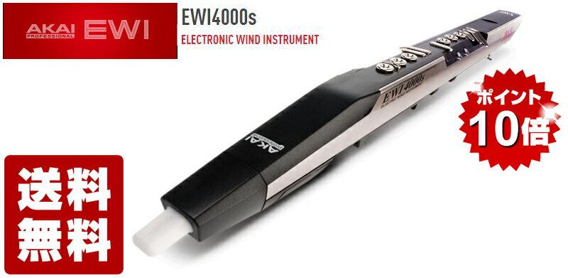 【即納可能 ポイント10倍】AKAI professional EWI4000S 追加音源版 ウインドシンセ【送料無料】【あす楽対応_関東】
