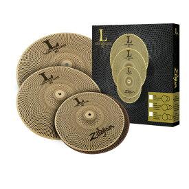 【即納可能】Zildjian ジルジャン シンバル L80 Low Volume Cymbal Set LV468 【送料無料】【あす楽対応_関東】