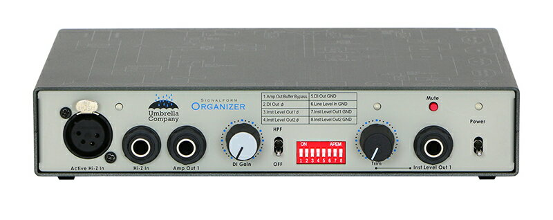 Umbrella-Company SIGNALFORM ORGANIZER / DI,Reverse DI,Level Converter【送料無料】