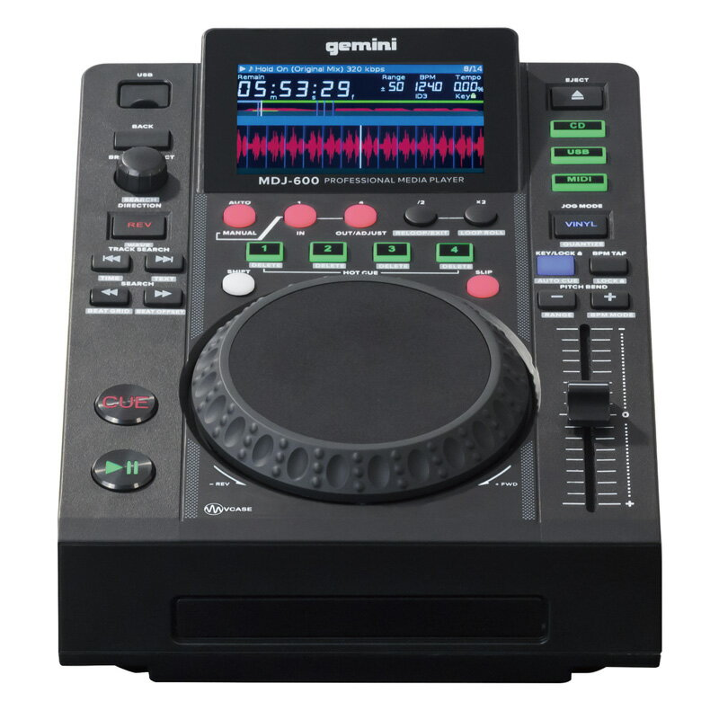 GEMINI USB/CDプレイヤー MDJ-600【送料無料】