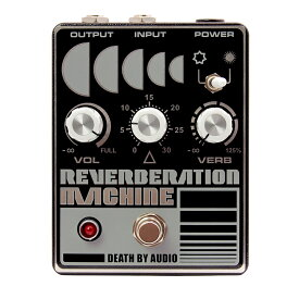 Death by Audio REVERBERATION MACHINE -Blistering Reverb-【送料無料】