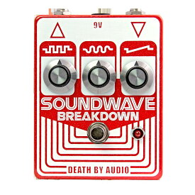 Death by Audio SOUNDWAVE BREAKDOWN -Backwards Transistor Fuzz-【送料無料】